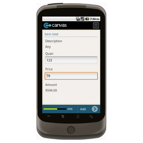 Android: Basic Sales Receipt Mobile App (Example 3)