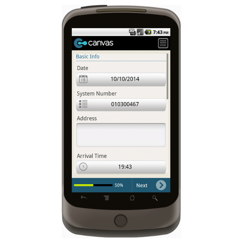 Android: Alarm Response Summary Mobile App (Example 2)