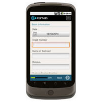 Android: Railroad Hours of Service Report Form Mobile App (Example 1)