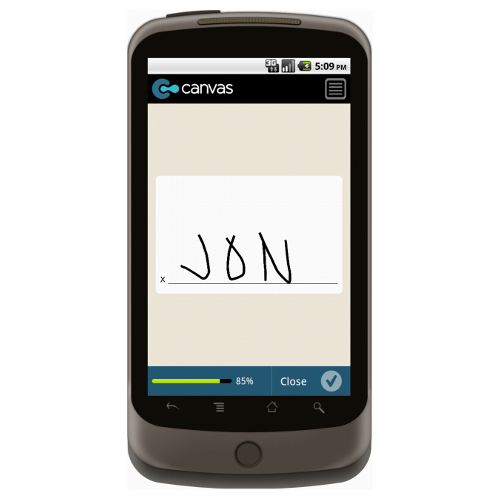Android: Behavioral Health Appointment Note Mobile App (Example 4)