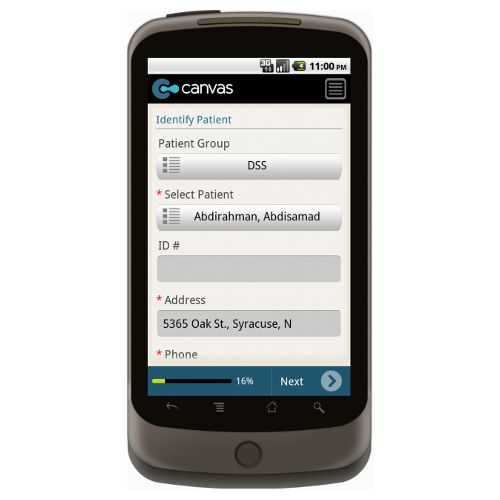Android: Medical Services Home Transportation Mobile App (Example 1)
