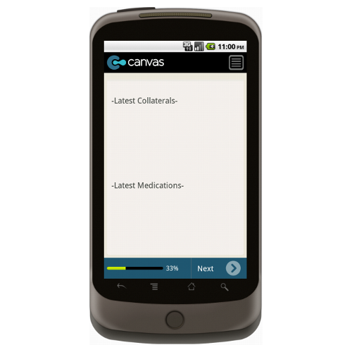 Android: Medical Services Home Transportation Mobile App (Example 2)