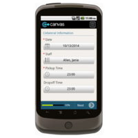 Android: Medical Services Home Transportation Mobile App (Example 3)