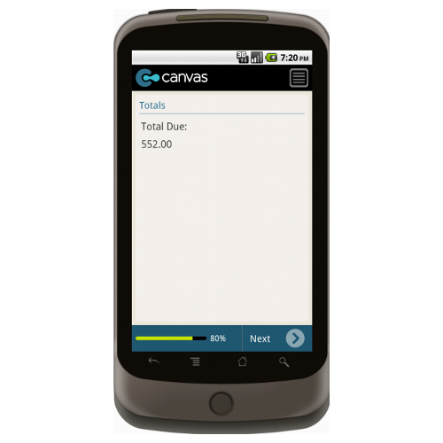Android: Service Invoice Mobile App (Example 4)