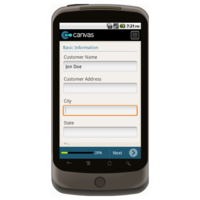 Android: Special Order Form Mobile App (Example 1)