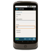 Android: Special Order Form Mobile App (Example 2)