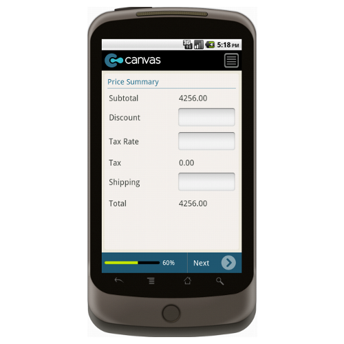 Android: Basic Product Invoice with Payment Mobile App (Example 3)