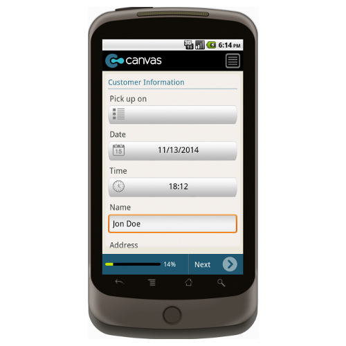 Android: Create a Cake Form Mobile App (Example 1)