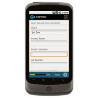 Android: Daily Excavation Checklist Mobile App (Example 1)