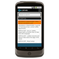 Android: Daily Excavation Checklist Mobile App (Example 3)