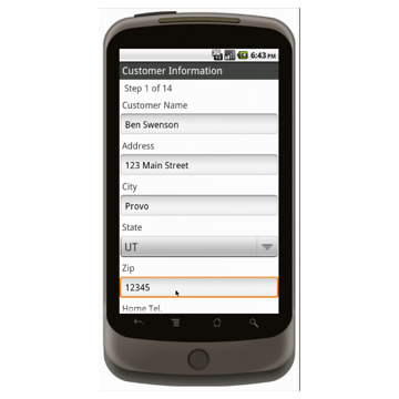 Landscaping Work Order with Dispatch - Deluxe 6570 Form Mobile App ...