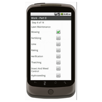Android (1.5 - pre1.6): Landscaping Work Order - Deluxe 6570 Mobile App (Example 2)