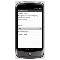 Android (1.5 - pre1.6): Farm Health & Safety Audit - Safety-Link Mobile App (Example 3)